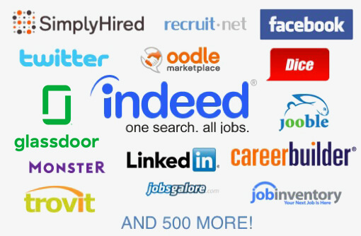 Push jobs to job boards