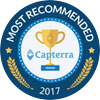 capterra award most reccommended