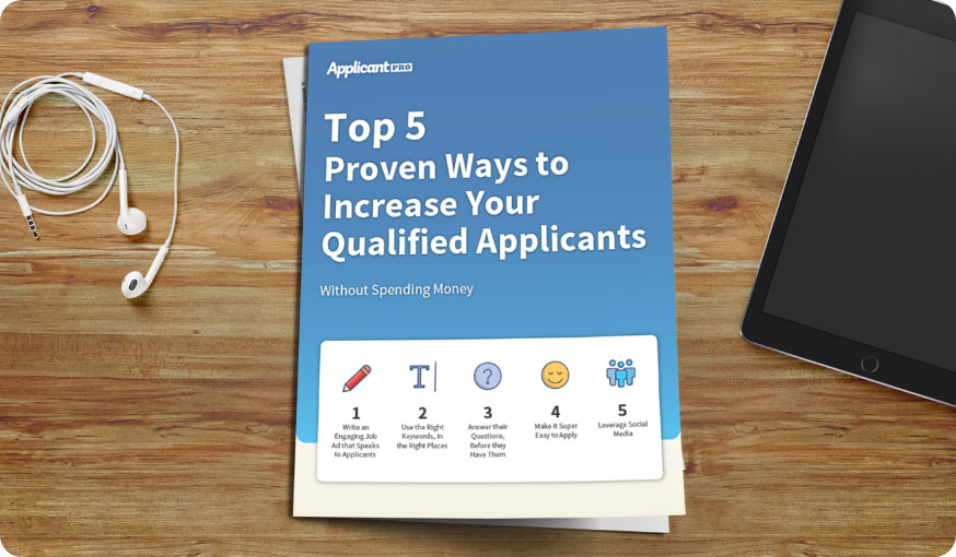 increase qualified applicants guide