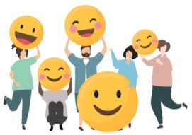 smiles happy customers