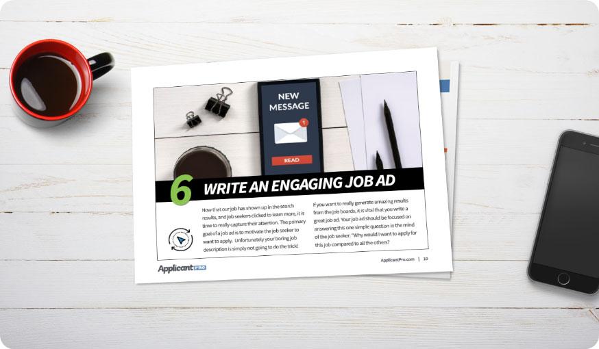 write an engaging job ad