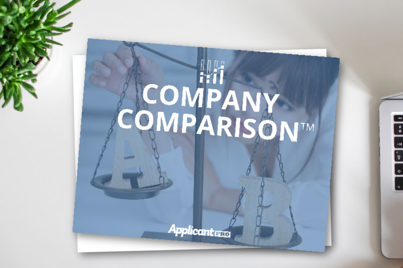 hr reading about company comparison