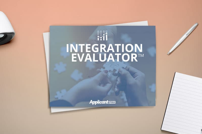 HR reading more about integrating evaluation