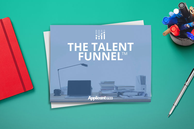 HR desk learning about talent funnel