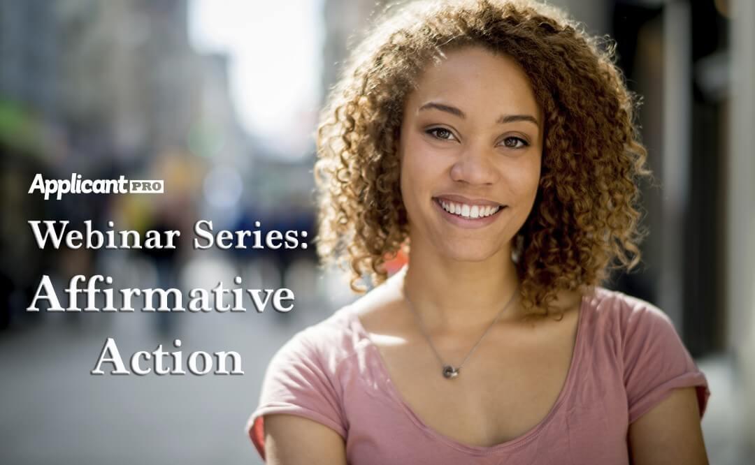 Webinar Series Affirmative Action