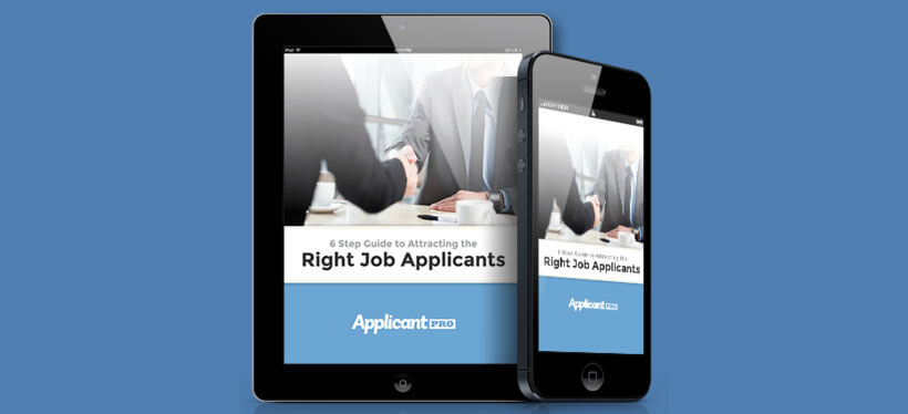 Free eBook – How to Attract the Right Applicants
