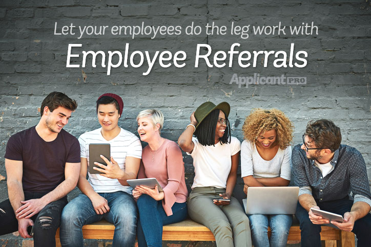 Improve your employee culture and hire top employees with employee referrals