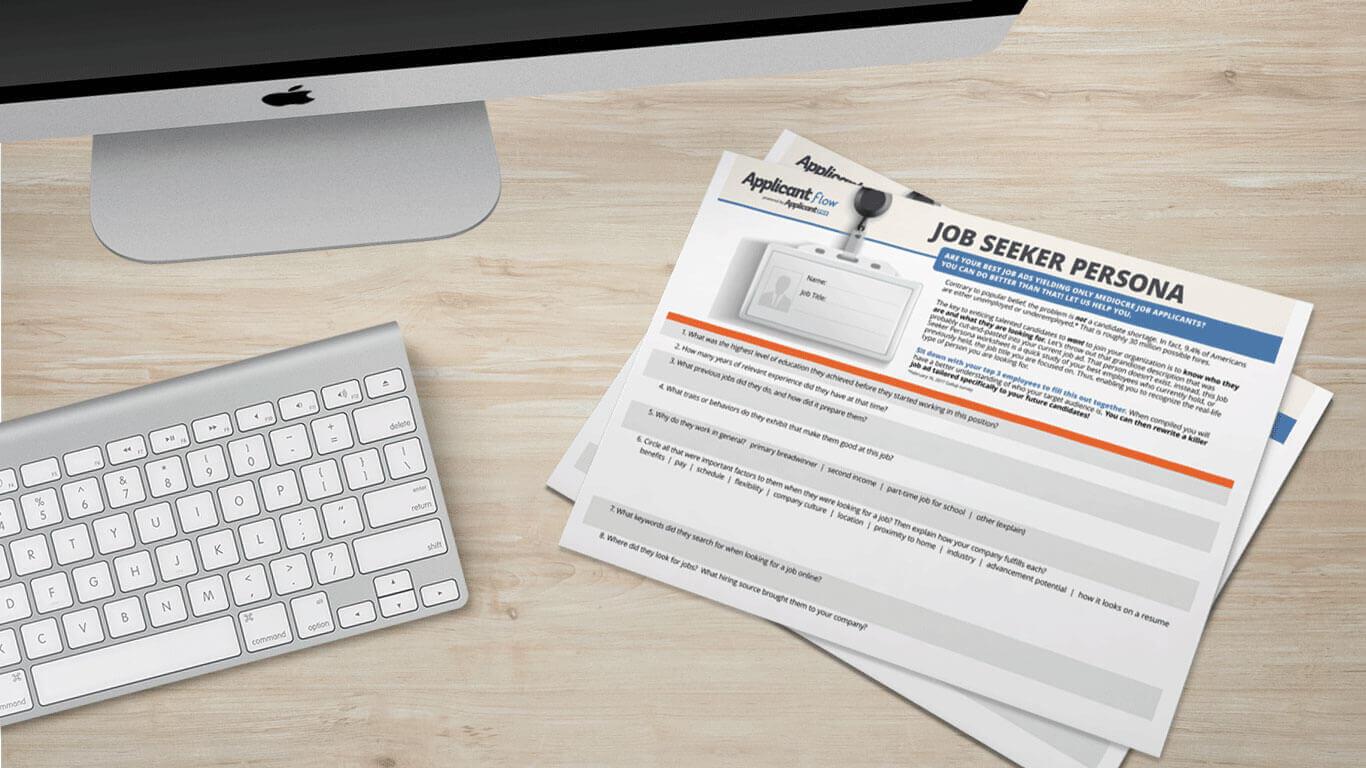 Job Seeker Applicant Persona Applicant Tracking